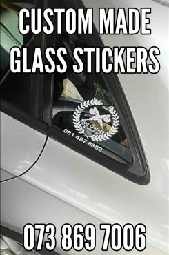 Car Accessories Badges and Vinyls