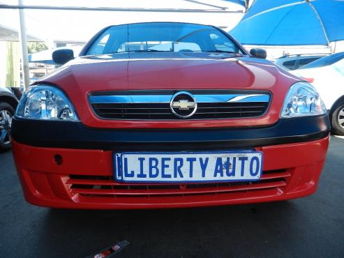 2011 Chevrolet Opel Corsa Utility 1.4 Single Cab Bakkie 80,000km Manual Transmission, Side Steps Poc