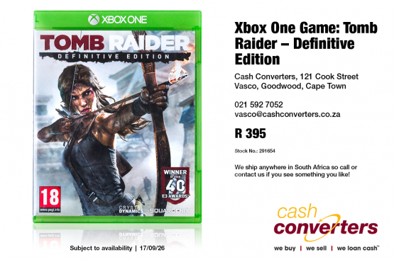 Xbox One Game Tomb Raider Definitive Edition Junk Mail