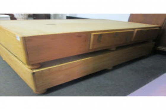 wooden bed bases