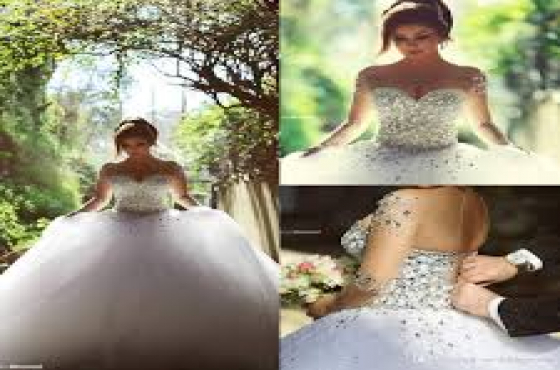 Brand New Beautiful Wedding Gown Rentals in Randfontein R950