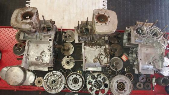 Suzuki T500 engine spares