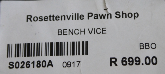 Bench vice S026180a