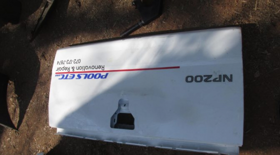 Nissan Np200 Tailgate Shell White For Sale