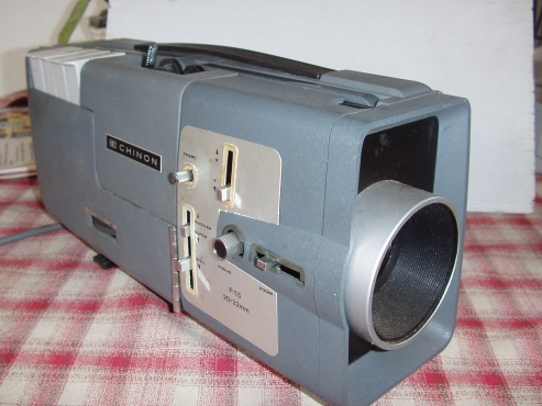 Vintage Chinon Dual 8mm Movie Projector