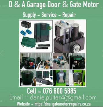 BRAKPAN, Garage door and Gate motor Service & Repairs 0766005885 CALL NOW