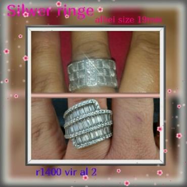 silver ringe