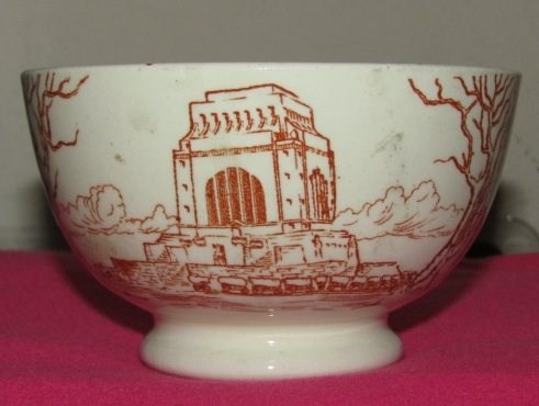 Small Bowl in commemoration of Voortrekkers, 1838 to 1938