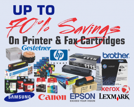 Save up to 90% on printer consumable by refilling old cartridges