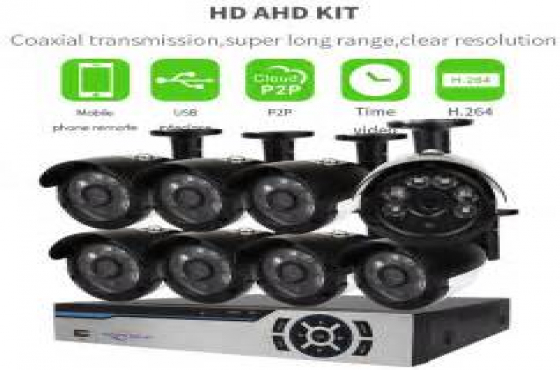 8 Channel HD-DVR/ CCTV Kit The 8 Channel CCTV Kit