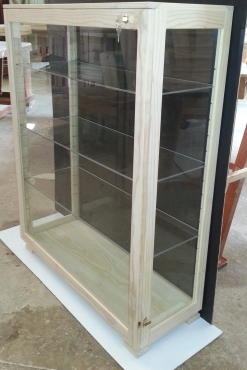 CABINETS Display Cabinets- Quality Custom made, Different types Wood, Dust Proof ! Best Prizes !