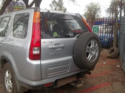 Honda Crv I rear par
