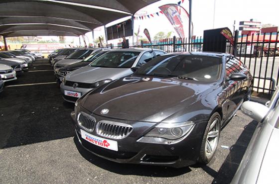 BMW M6 on auction