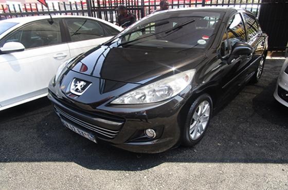Peugeot 207 on auction