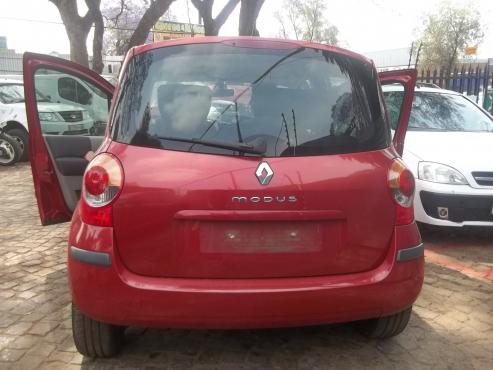 Renault Modus rear s
