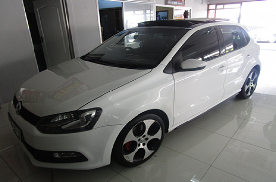 VW Polo GTi on auction
