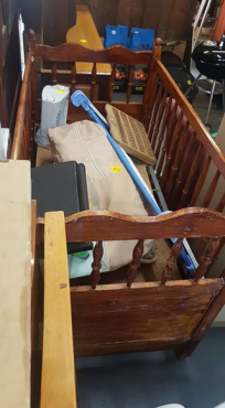 Wooden cot for sale