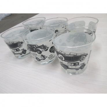 6x custom - imprinted drinking glasses
