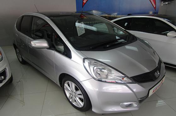 2012 Honda Jazz on auction