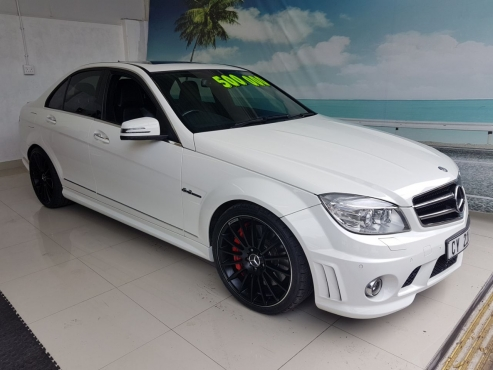 sporty mercedes benz c63 amg for sale only 50 000 km 39 s. Black Bedroom Furniture Sets. Home Design Ideas