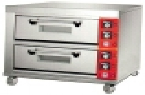 BRAND NEW 2 DECK 4 TRAY ELECTRIC OVENS