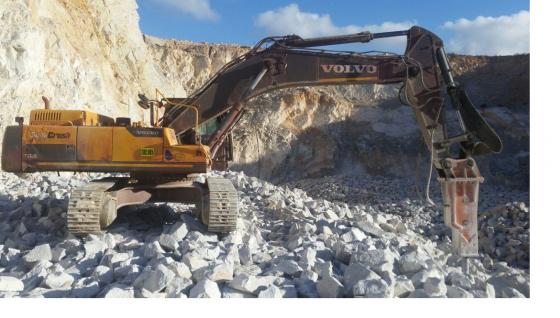 Excavator Volvo EC480D Hydraulic