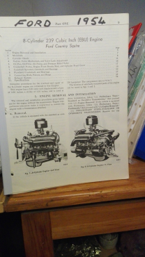 Ford 1954 V8, technical