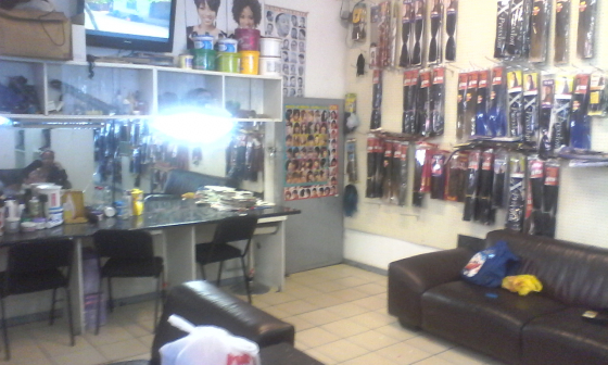 Hair beauty salon,accessories and cosmetics shop