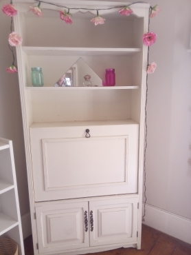 Wall Unit TV/Bar Cabinet with Bookshelf and Doors | Junk Mail