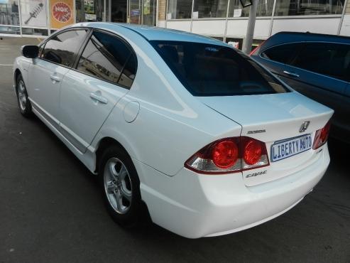 2007 Honda Civic Sedan 1.8 EXi 75,000km Manual Transmission Front Wheel  Drive, Cloth Upholstery
