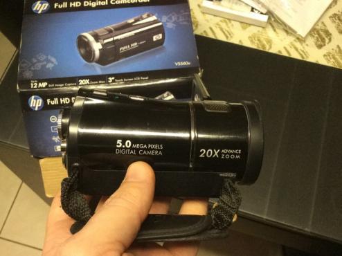 HP Full HD Digital Camcorder