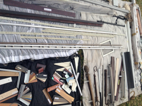 COMPLETE SET FOR NEW BUSINESS OF  BLINDS  AND CURTAINS SHOP FOR SELL!