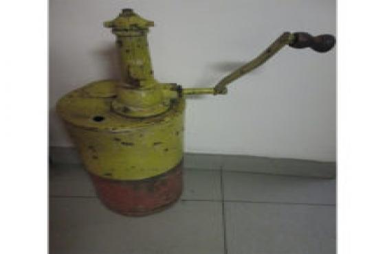 antique oil pump