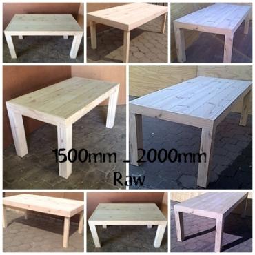 Patio tables Chunky Farmhouse Series Variety