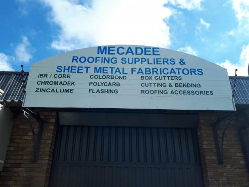 Mecadee Roofing and Sheetmetal fabricators