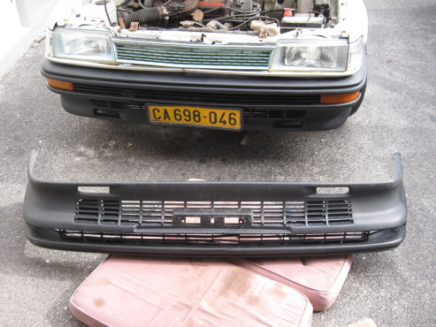 Bumper,  front for Toyota Conquest. R100 phone 0834153008