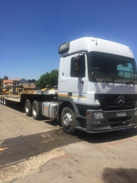 Mercedes Tipper Axor 3335 & Mercedes Actros 2648 Axor Horse & Lowbed Rig seperate