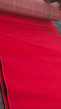 Red carpet aisle runner for sale