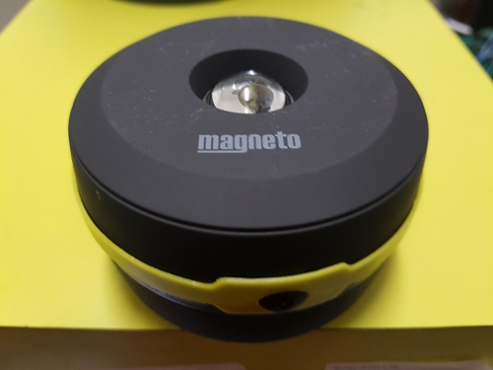 Pop up magnetic lant