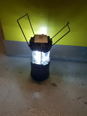 pop up camping lamp