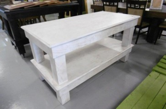 white wash island table