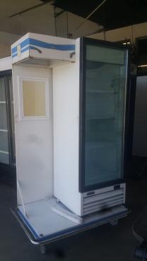 Frigorex single glass door Typy: FV400.