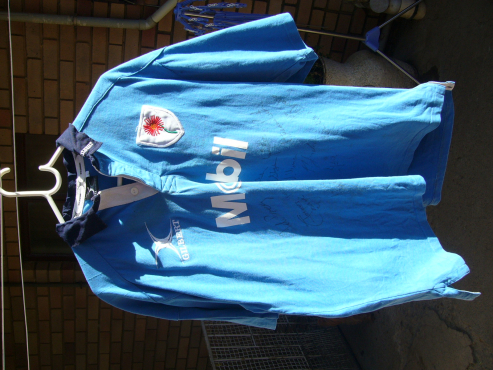 BLUE BULLS Signed Rugby Jersey
