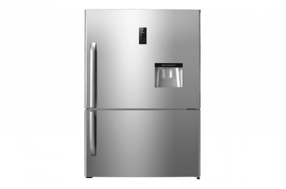 HISENSE 610L WATER DISPENSER FRIDGE METALLIC