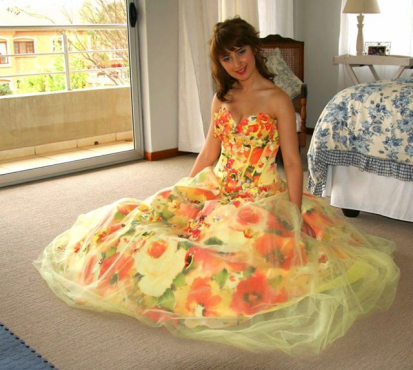 Stunning formal dress wear