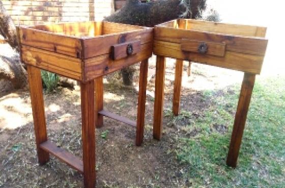 wooden box frames