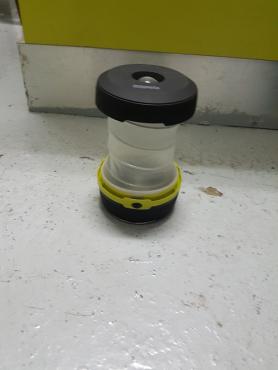 Pop up magnetic lantern
