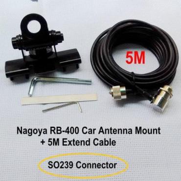 NAGOYA Mag Mount XJ-170   + 5m  CABLE