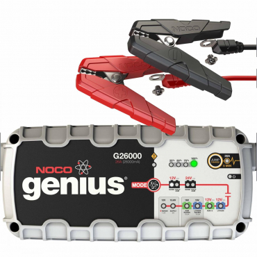 NOCO Genius G26000 12V/24V 26A Pro Series UltraSafe Smart Battery Charger- Maiden Electronics.