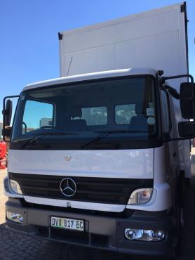 2007 Mercedes-Benz Atego 1517 8 ton